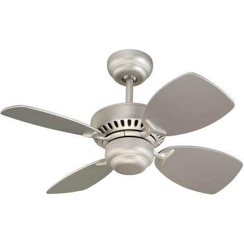 "28"" Colony II Fan -  Brushed Pewter"
