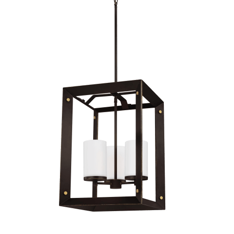 Chatauqua Three Light Hall / Foyer Antique Bronze