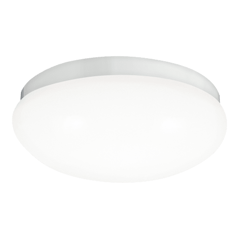 Webster Small LED Flush Mount White