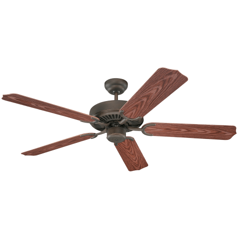 "52"" Weatherford Outdoor Fan -  Roman Bronze"
