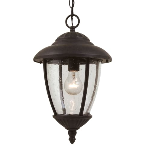 Lambert Hill One Light Outdoor Pendant Oxford Bronze