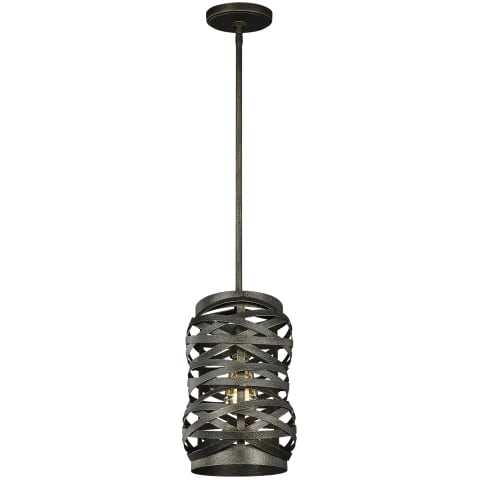 Cowen One Light Mini-Pendant Obsidian Mist