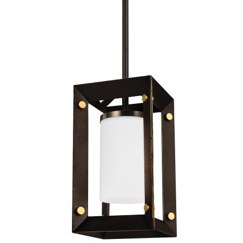 Chatauqua One Light Mini-Pendant Antique Bronze