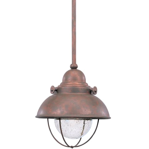 Sebring LED Mini-Pendant Weathered Copper
