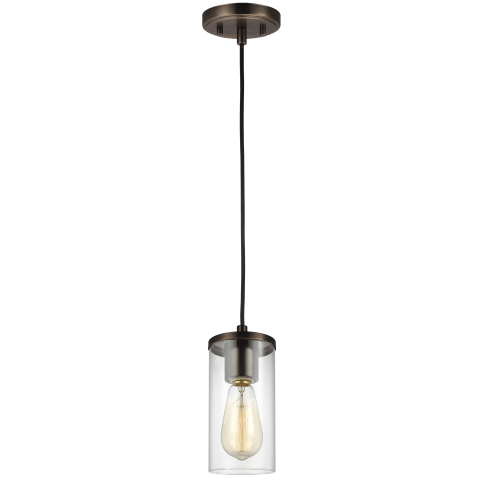 Zire One Light Mini-Pendant Brushed Oil Rubbed Bronze