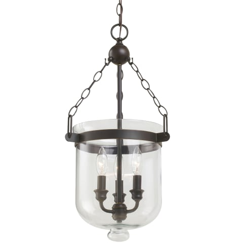 Westminster Three Light Pendant Autumn Bronze