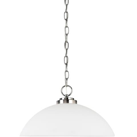 Oslo One Light Pendant  Chrome