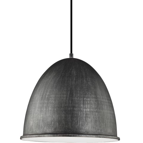 Hudson Street One Light Pendant  Stardust