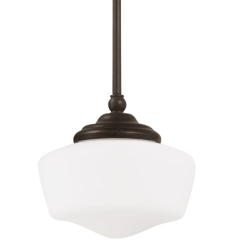 Academy Small One Light Pendant Heirloom Bronze