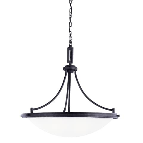 Winnetka Four Light Pendant Blacksmith
