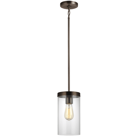 Zire One Light Pendant Brushed Oil Rubbed Bronze
