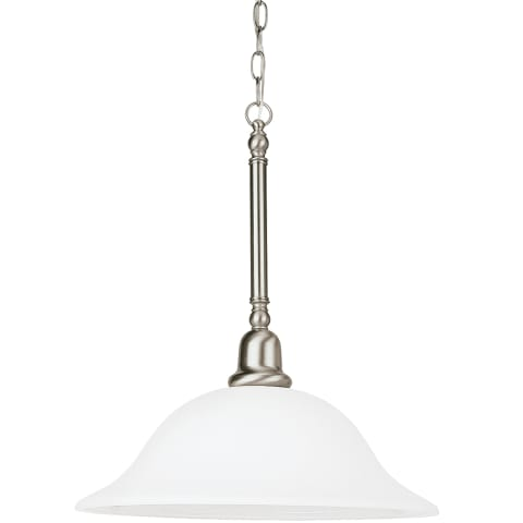 Sussex One Light Pendant Brushed Nickel
