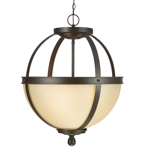 Sfera Three Light Pendant Autumn Bronze