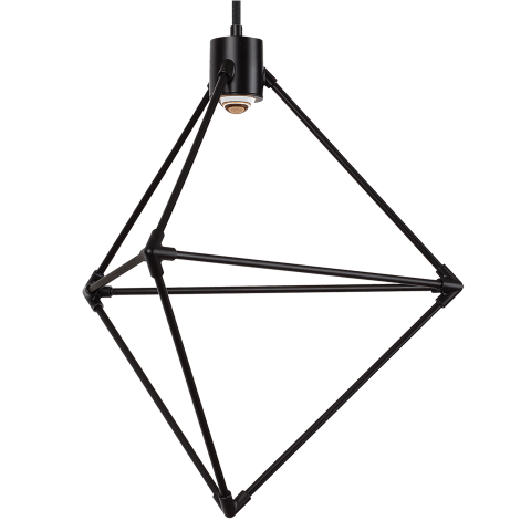 Candora 19 Chandelier matte black 3000K-2200K 90 CRI integrated led 90 cri 3000k-2200k 120v (t24)