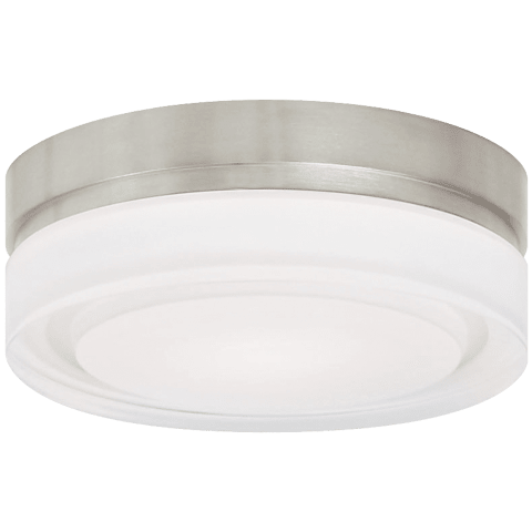 Cirque Small Flush Mount Small satin nickel 2700K 90 CRI led 90 cri 2700k 120v