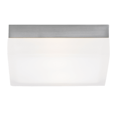 90 Large Flush Mount Large satin nickel 3000K 100 CRI incandescent 120v (t20)
