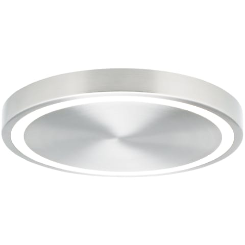 Crest 12 Ceiling 12 satin nickel 3000K 90 CRI integrated led 90 cri 3000k 120v