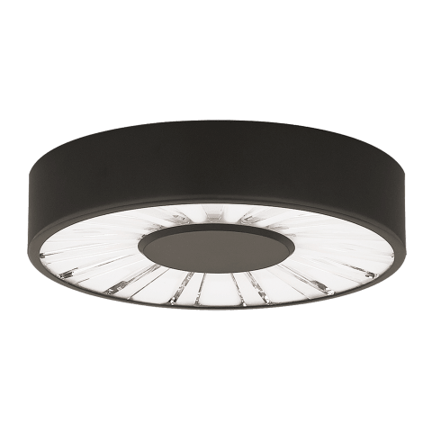 Kalido Flush Mount Ceiling Small Clear Crystal antique bronze 3000K 80 CRI led 80 cri 3000k 120v