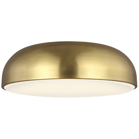 Kosa 13 Ceiling aged brass 3000K 90 CRI integrated led 90 cri 3000k 120v (t24)