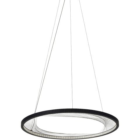 Interlace 30 Suspension black 2700K 80 CRI integrated led 80 cri 2700k 120v