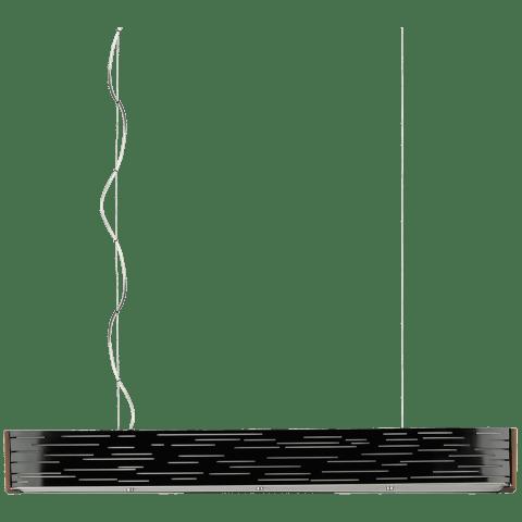Revel Linear Suspension Gloss Black 3000K 80 CRI led 80 cri 3000k 120v