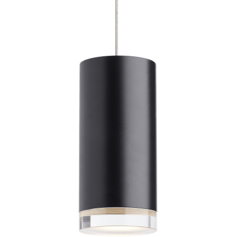 Dobson II Pendant MonoPoint black/satin nickel 3000K 90 CRI 12 volt led mr16 90 cri 3000k