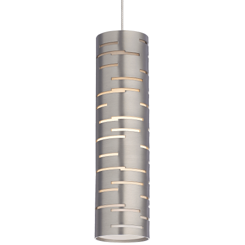 Revel Pendant MonoPoint Satin Nickel satin nickel 3000K 90 CRI 12 volt led 90 cri 3000k (t20/t24)