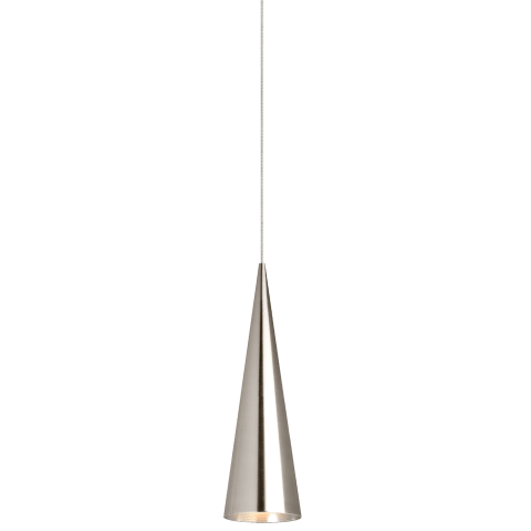 Summit Small Pendant MonoPoint Small satin nickel no lamp