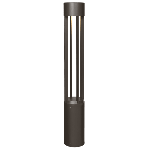 Turbo 42 Outdoor Bollard black 3000K 80 CRI