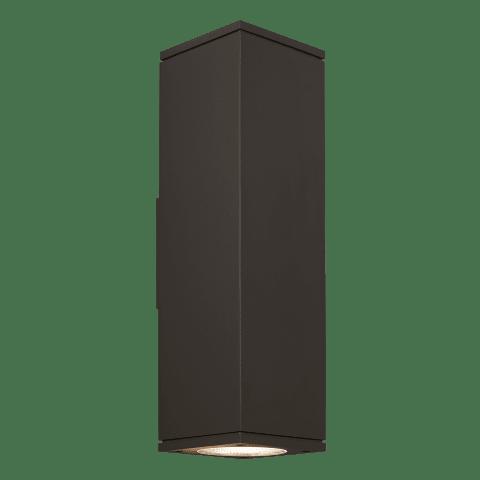 Tegel 18 Outdoor Wall black 3000K 80 CRI, Downlight Only NC