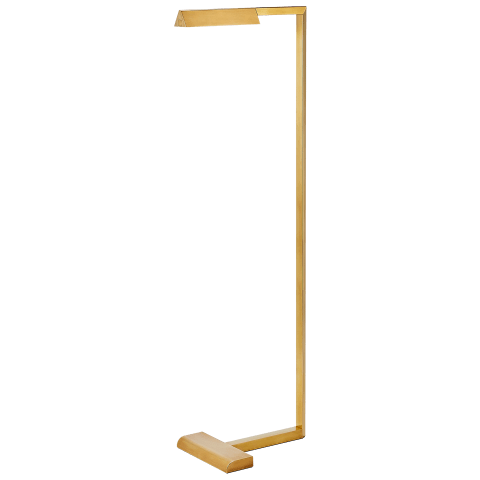 Dessau 38 Floor Lamp 38 natural brass 2700K 90 CRI led 90 cri 2700k 120v