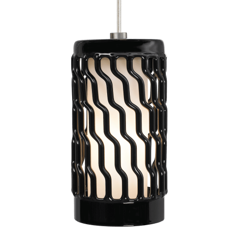 Liza Grande Pendant Black black incandescent 120v
