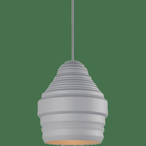 Ryker Pendant Small gray/gray no lamp