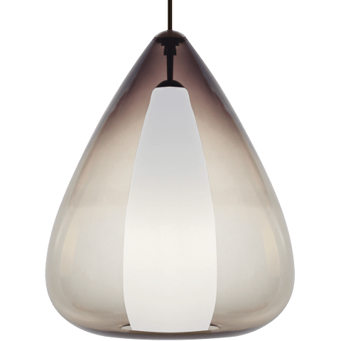 Soleil Grande Pendant Smoke black no lamp