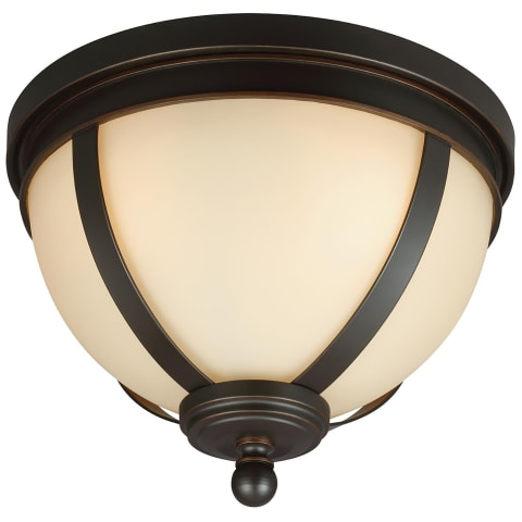 Sfera Three Light Flush Mount Autumn Bronze