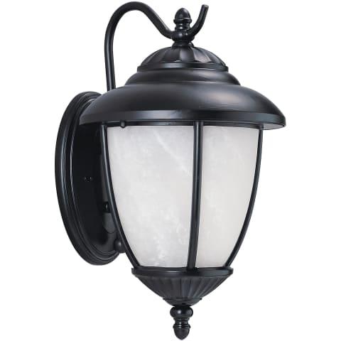 Yorktown One Light Outdoor Wall Lantern Black Bulbs Inc