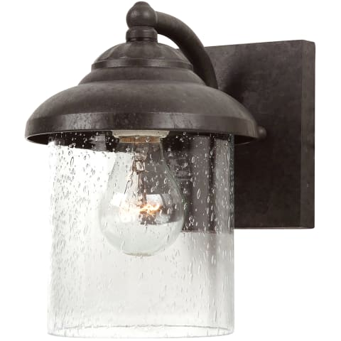Lambert Hill One Light Outdoor Wall Lantern Oxford Bronze