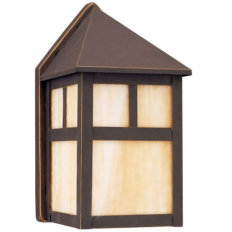 Prairie Statement One Light Outdoor Wall Lantern Antique Bronze