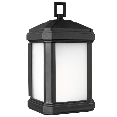 Gaelan Small One Light Outdoor Wall Lantern Black Bulbs Inc