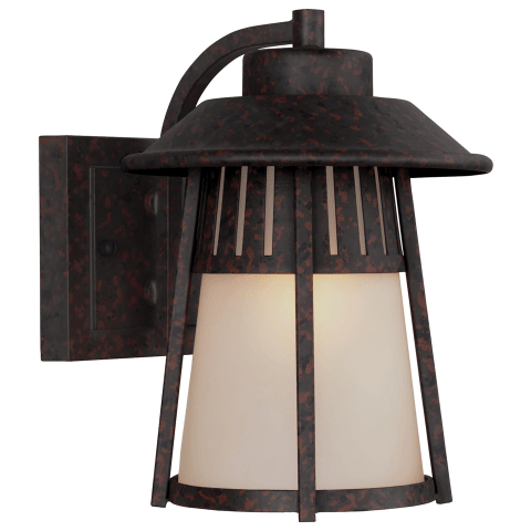 Hamilton Heights Medium One Light Outdoor Wall Lantern Oxford Bronze Bulbs Inc