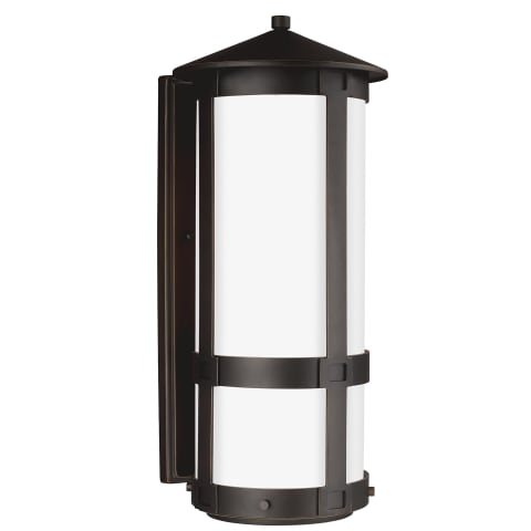 Groveton Large One Light Outdoor Wall Lantern Antique Bronze