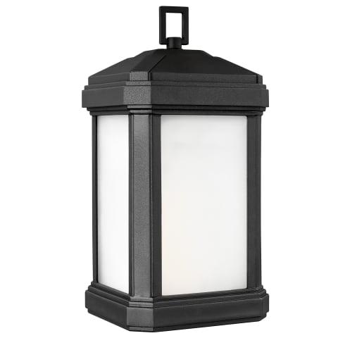 Gaelan Large One Light Outdoor Wall Lantern Black Bulbs Inc