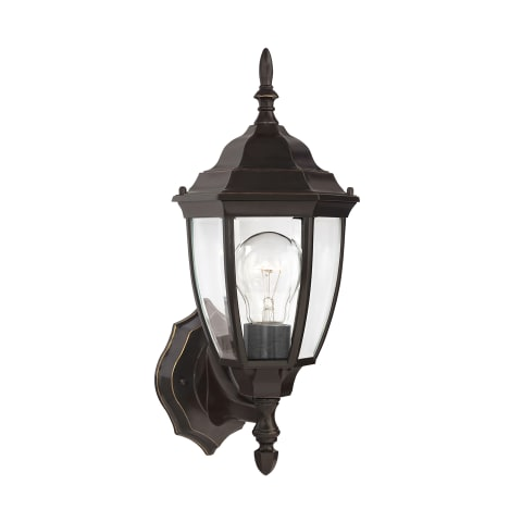 Bakersville One Light Outdoor Wall Lantern  Heirloom Bronze