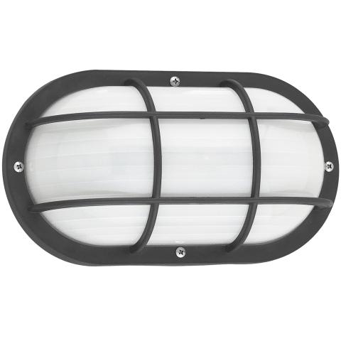 Bayside One Light Outdoor Wall Lantern Black