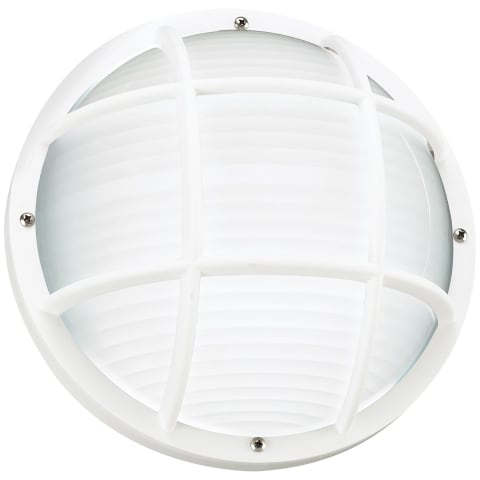 Bayside One Light Outdoor Wall / Ceiling Mount White