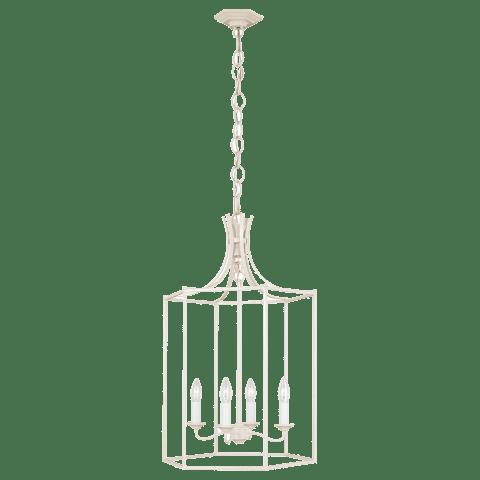 Bantry House Medium Lantern Blush