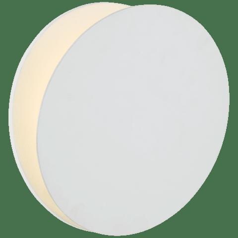 Gabriela Round Wall Washer in Matte White