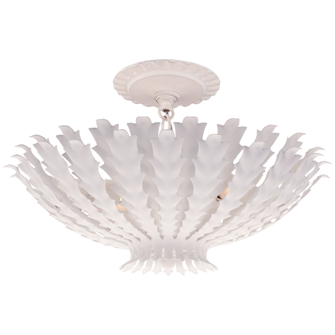 Hampton Small Chandelier in Plaster White