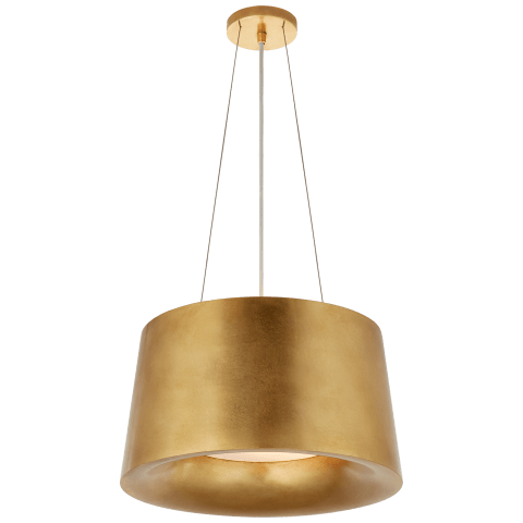 Halo Small Hanging Shade in Gild