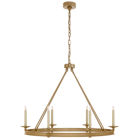 Launceton Large Oval Chandelier in Bronze